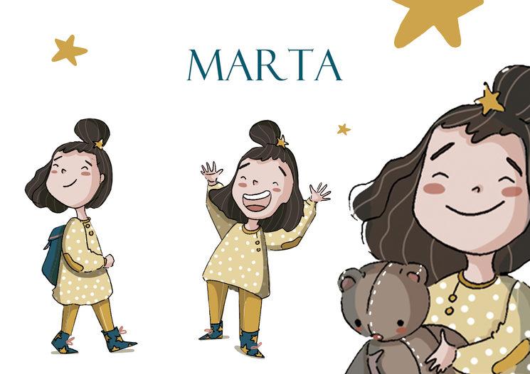 """Marta """"La niña que buscaba una estrella"""""""