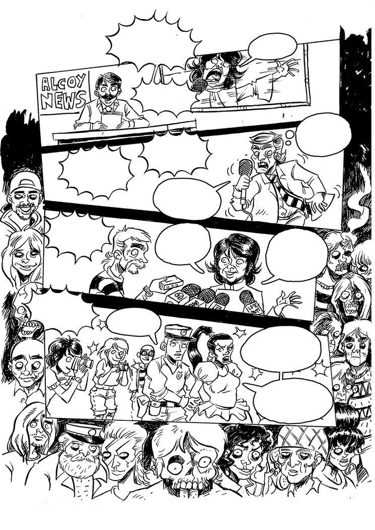 página 1 de la segunda historia de Camilo