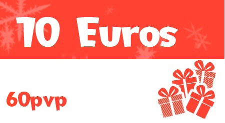 Por cada 10 euros de donación aportaremos juegos por valor de 60 a las donaciones.