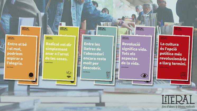 Postals i punts de llibre Fira Literal 2020