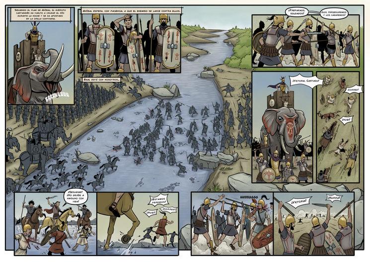 Batalla del tajo, 220 a.C.