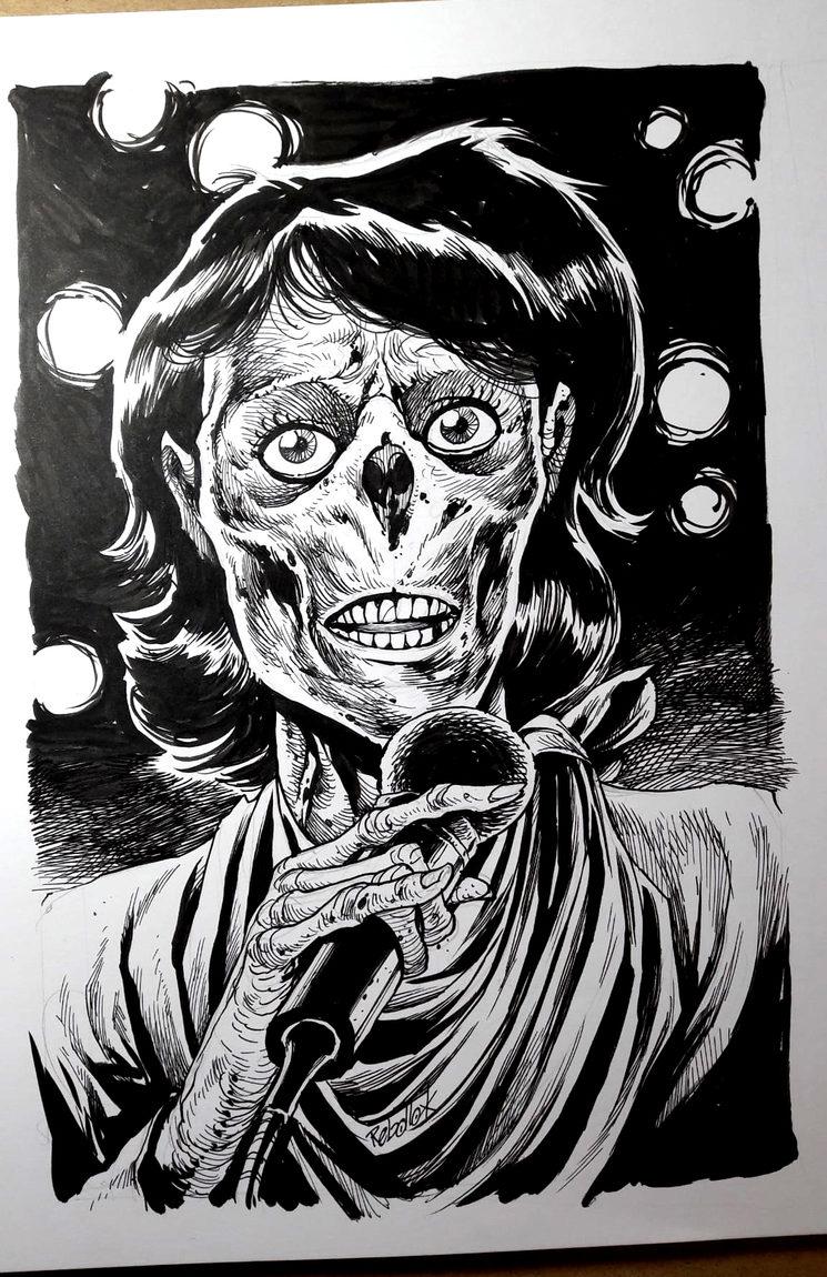 Camilo zombificado!