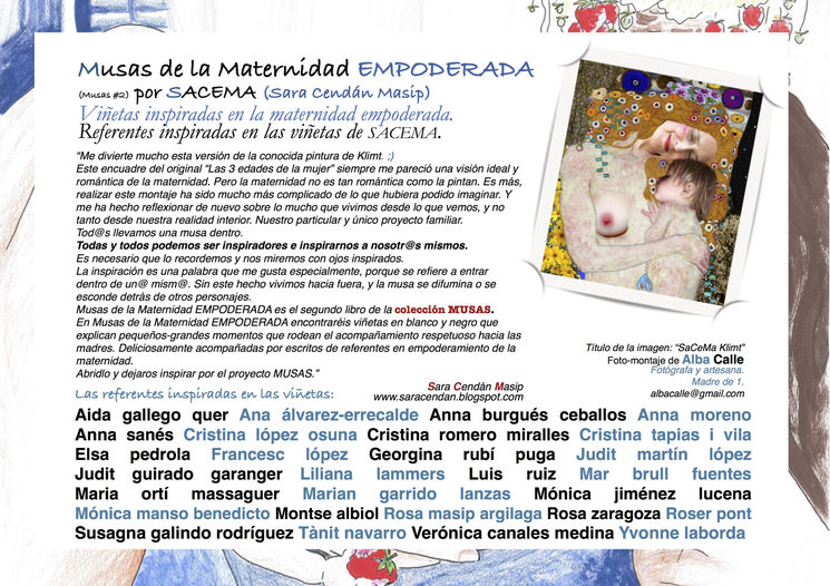 Contraportada de Musas of the Empowered Motherhood