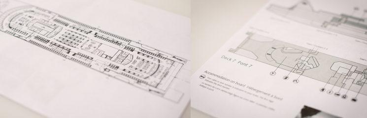 En la fotografía, el plano del ferry en el que se desarrolla el clímax de la novela. ¡Chan chan!🤭