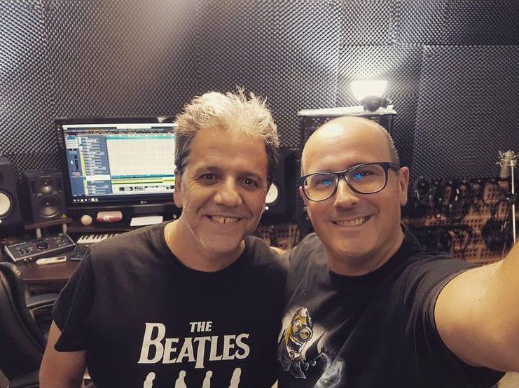 Paco Garnelo i Wilfrid a Pandostudios