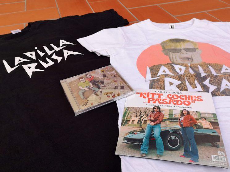(Imagen provisional: el diseño del disco todavía no existe y las camisetas tendrán un diseño nuevo)