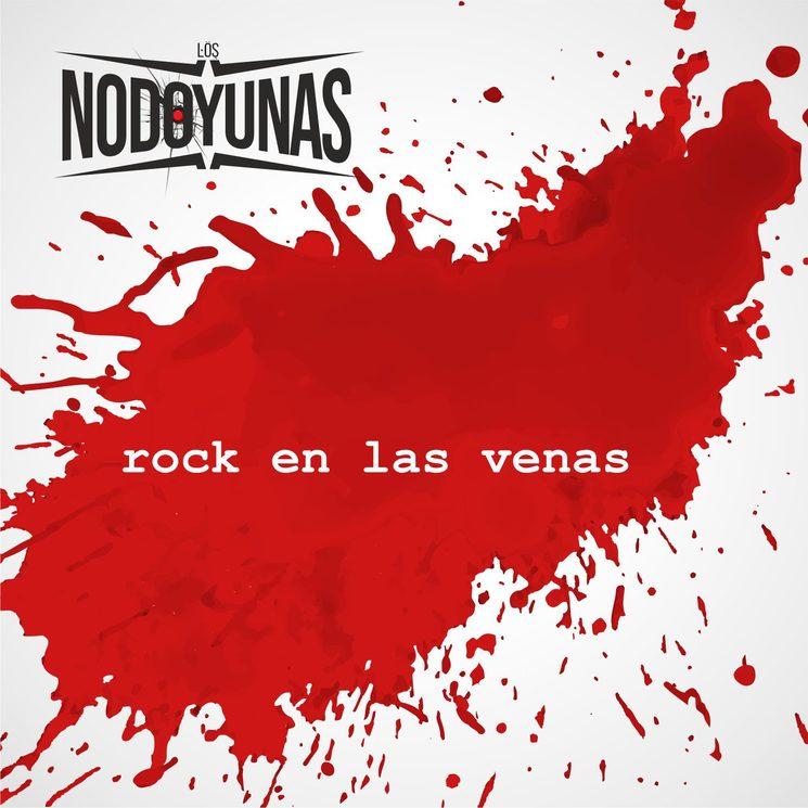 """Portada LP """"Rock en las venas"""""""