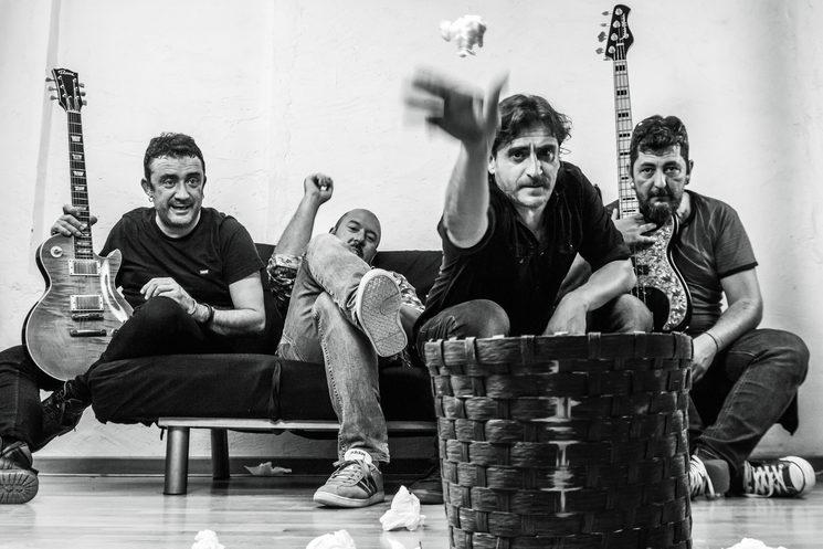 De izquierda a derecha: David Fornes, Dani González, Salva Gamón y David Silla.
