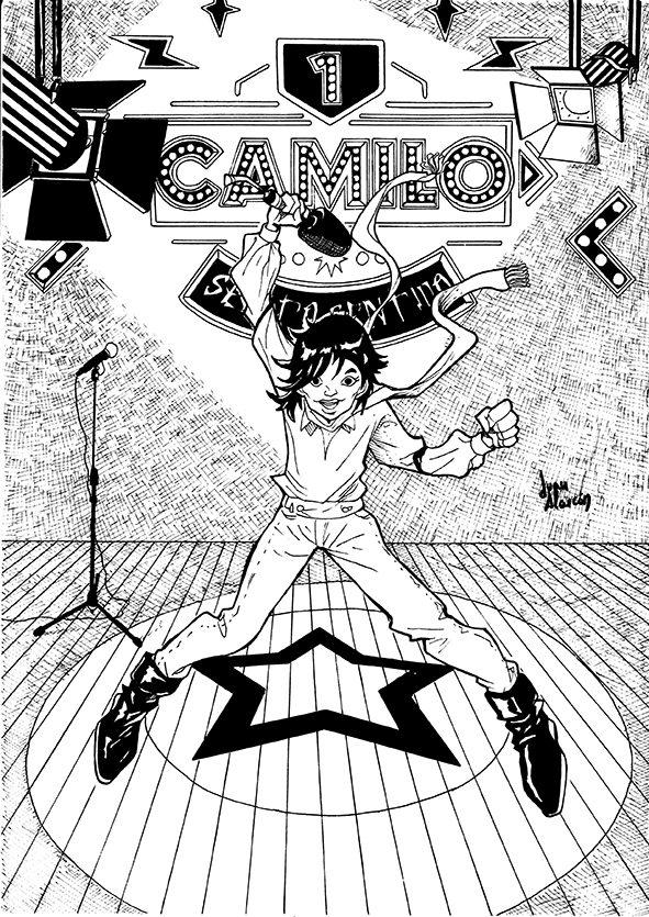 Ilustración original de Juan Martínez Alarcón