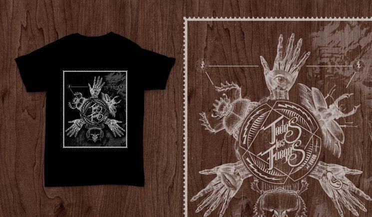 Camiseta modelo insectos