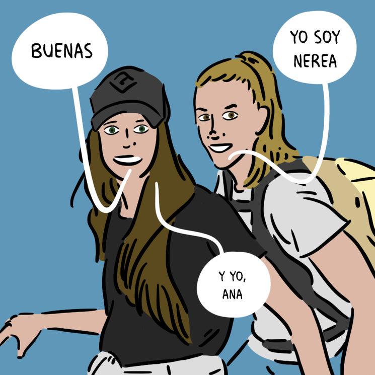 Somos Nerea y Ana