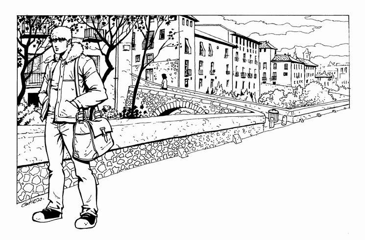 ilustración de Santiago Girón