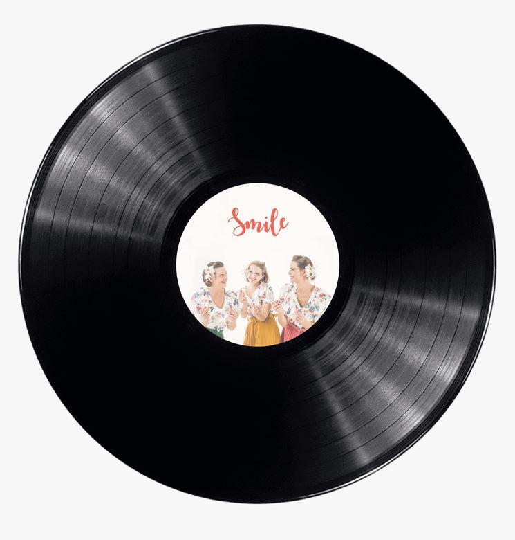 """Disco """"Smile"""" edición vinilo"""