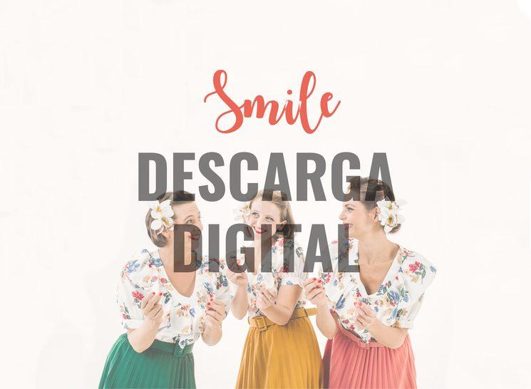 """Te enviamos un enlace de descarga con el disco """"Smile"""""""