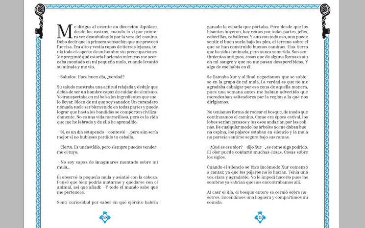 """Detalle del libro en el capítulo de """"El Cuélebre"""""""