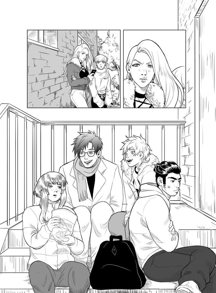 Página del segundo tomo de Urara