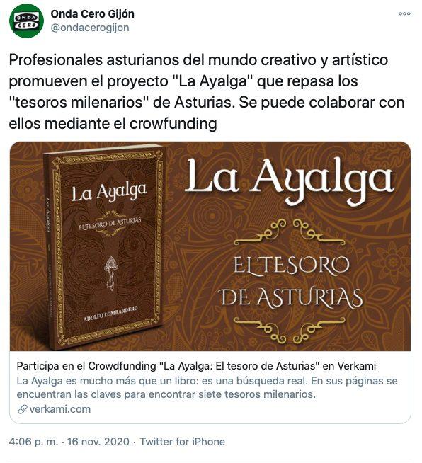 Tuit de Onda Cero Gijón