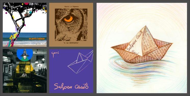 4 àlbums i una il·lustració alternativa