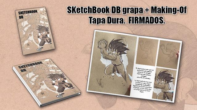SketchBook DB (Grapa) + SketchBook DB / Making-Of (Tapa Dura)