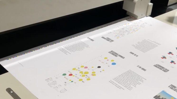 ¡El Diario Visual de la Cuarentena ya está en imprenta!