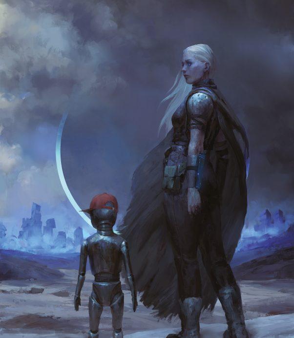 Cuando Nidama encontró a aquel Niño de Nínive averiado cerca de su asentamiento, no pudo imaginar la información que guardaba, ni los enormes peligros a los que se enfrentaría al proteger al pequeño autómata.