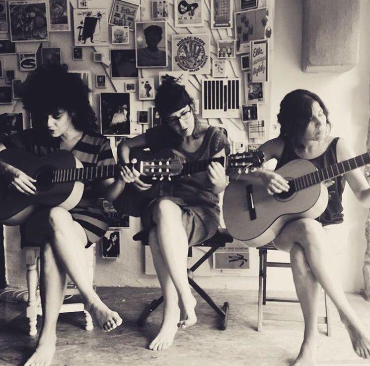 Marina Sorin, Érika López y Emilse Barlatay