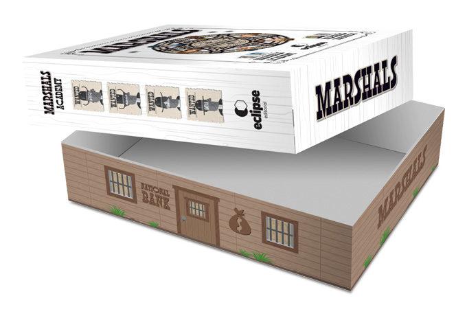 Diseño de caja para la expansión y el mini-juego.