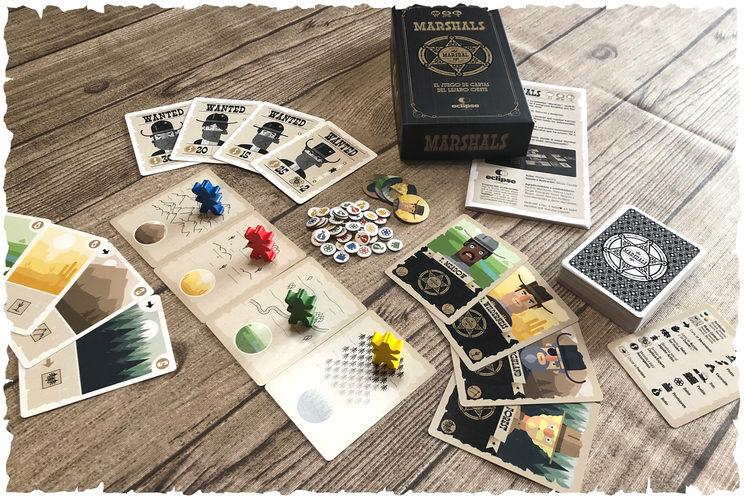 Contenido de la caja (componentes del juego básico).