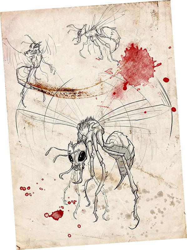 Ejemplo de Bestia de la Guía de los animales, criaturas y mutaciones del Páramo
