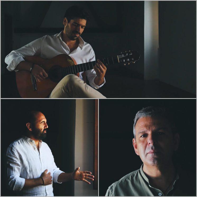 Carlos Llave, JoséMari Cala y Antonio Manuel