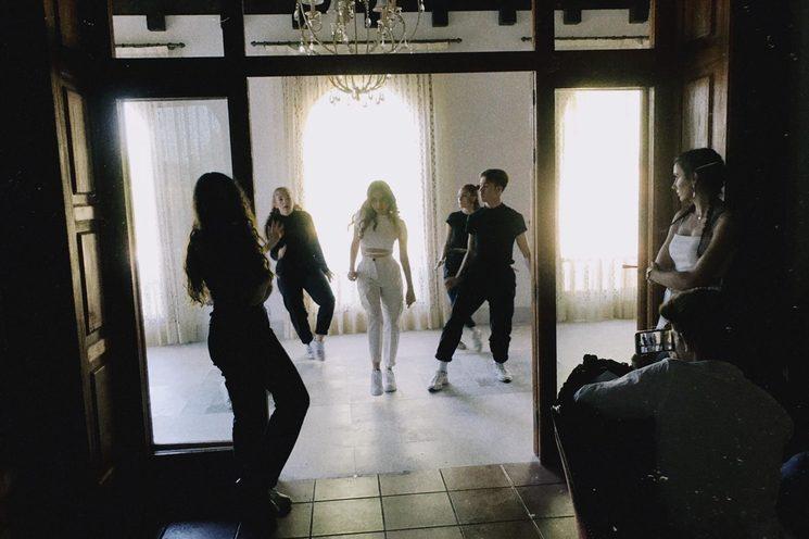 Rodaje del videoclip de Run
