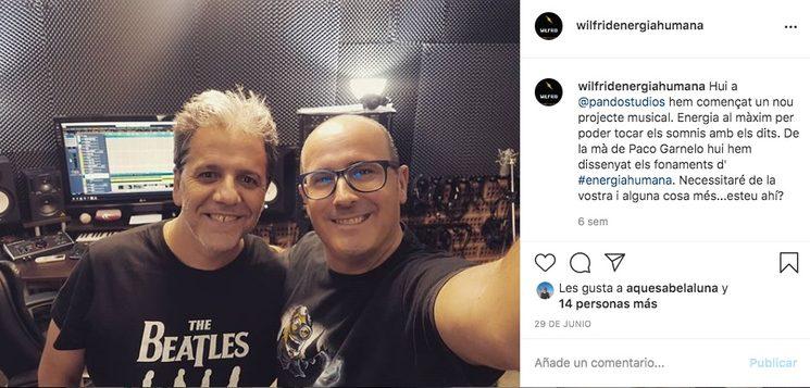Primera sessió a Pandostudios amb Paco Garnelo a juliol 2020