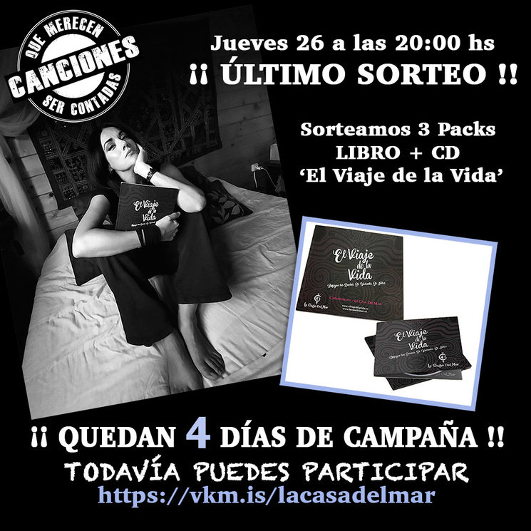 SORTEO PACK LIBRO + CD /