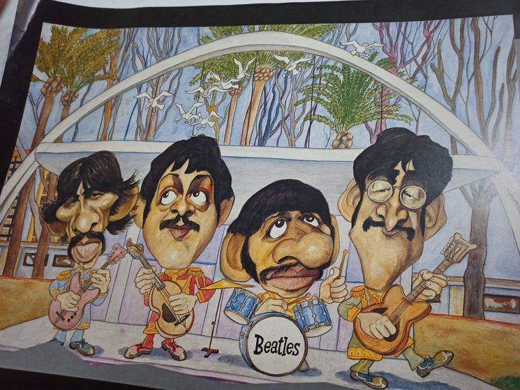 Los Beatles en el Eduardo Ocon