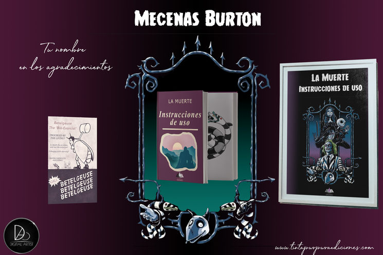 ¡Black Friday! Consigue este póster de Tim Burton