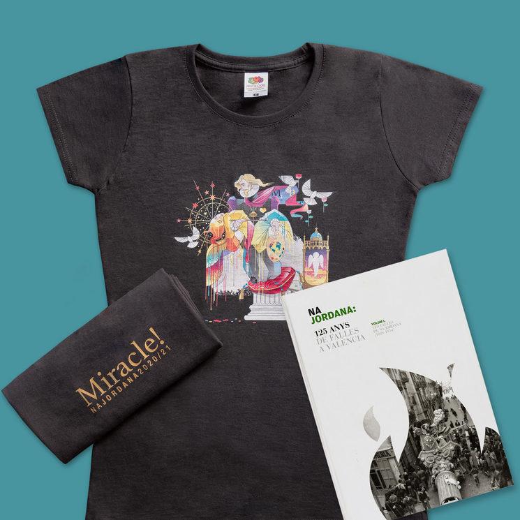 Camiseta + libro