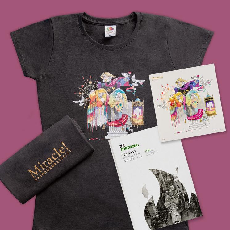 Camiseta + litografía + libro