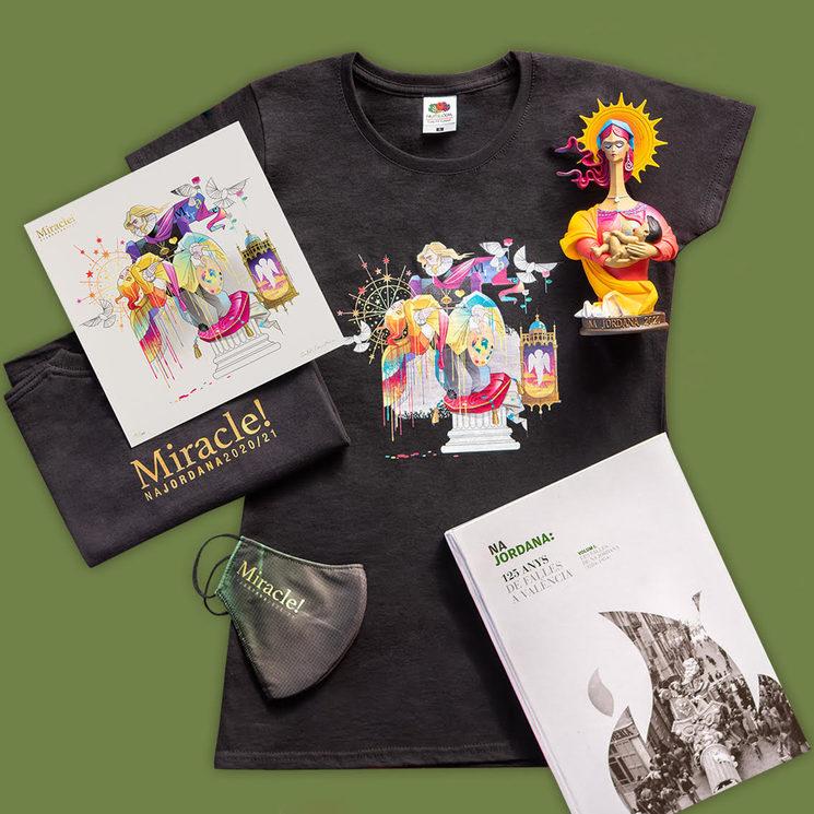 Camiseta + litografía + libro + reproducción
