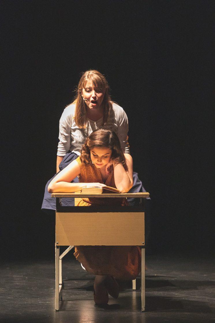 """Isabel i Carmen a """"Ciutat Pintada"""""""