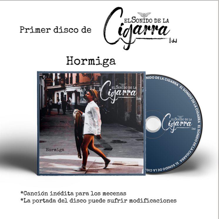 Primer disco El Sonido de la Cigarra