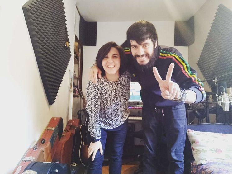 Grabación del disco con Fran Mariscal en Estudios Desván