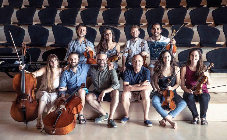 Bambú Ensemble, Paco Moya (Ibs Classical) and Cibrán Sierra || © Jaime Massieu || Auditorio de Castellón