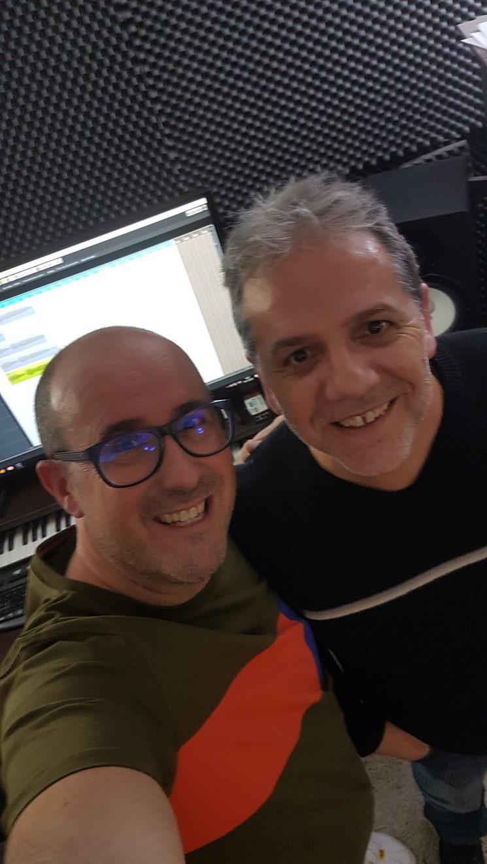Wilfridenergiahumana amb Paco Garnelo a Pandostudios.