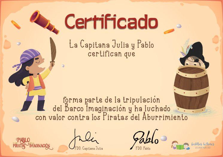 Certificados y agradecimientos para todos