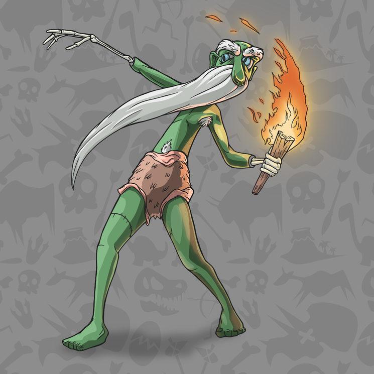Inventor del fuego Homo Erectus
