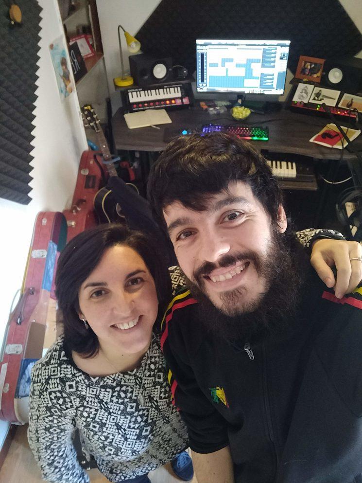 Grabando con Fran Mariscal en Desván Estudios