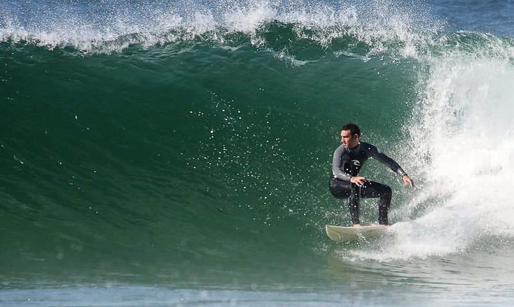 IGNACIO PEDREIRA, SURFISTA AMATEUR