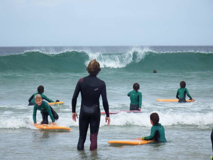 FERNANDO CARBALLIDO, MONITOR DE SURF