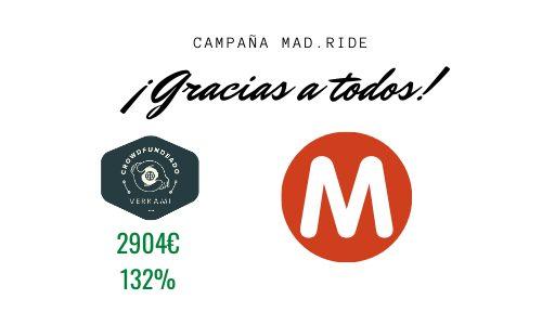 ¡Mad.Ride está en producción ! Y próximos pasos