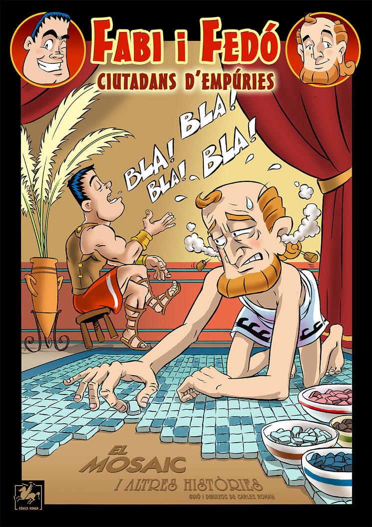portada del còmic Volum 1 de Fabi i Fedó, ciutadans d